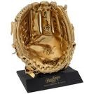 OZZIE SMITH AUTOGRAPHED SIGNED RAWLINGS GLOVE MINI