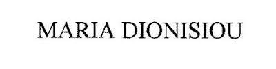 MARIA DIONISIOU