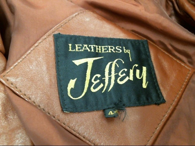 JEFFERY LEATHER