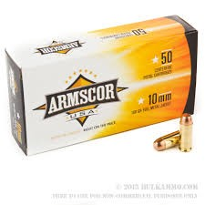 ARMSCORP USA INC Ammunition 10MM 180GR FMJ