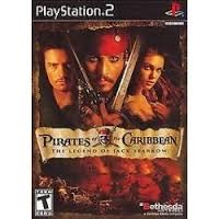 SONY Sony PlayStation 2 Game PIRATES OF THE CARIBBEAN