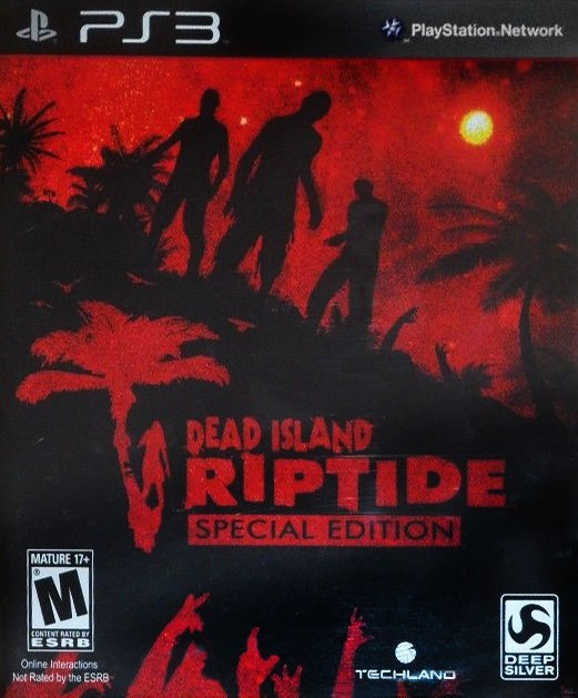 SONY Sony PlayStation 3 Game DEAD ISLAND RIPTIDE SPECIAL EDITION