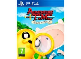 SONY Sony PlayStation 4 Game ADVENTURE TIME FINN & JAKE INVESTIGATIONS