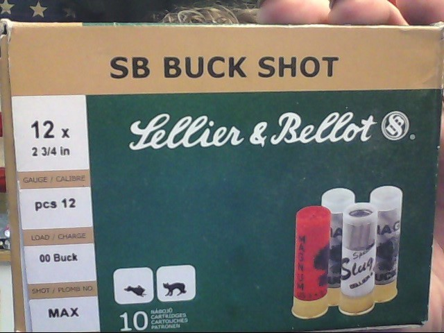 SELLIER & BELLOT Ammunition SB BUCK SHOT