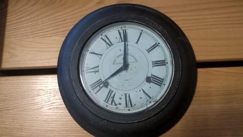 INDO-SWISS WATCH WORKS Clock CLOCK