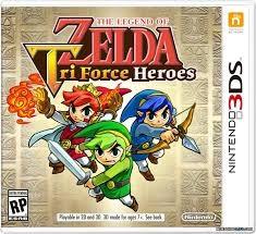 NINTENDO Nintendo 3DS Game ZELDA TRI FORCE HEROES 3DS
