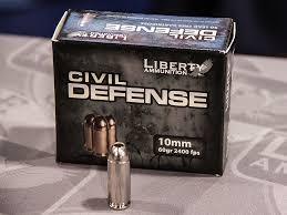 LIBERTY AMMUNITION Ammunition CIVIL DEFENSE 10MM