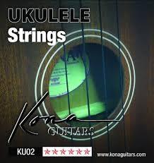 KONA Musical Instruments Part/Accessory UKULELE STRINGS KU02