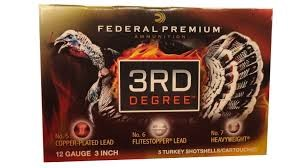 FEDERAL AMMUNITION Ammunition 3RD DEGREE 12 GA.