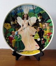 BRADFORD EXCHANGE Collectible Plate/Figurine FOLLOW THE YELLOW BRICK ROAD