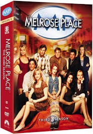 DVD BOX SET DVD MELROSE PLACE THIRD SEASON