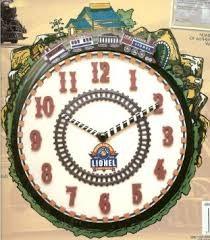 LIONEL Clock TRAIN CLOCK