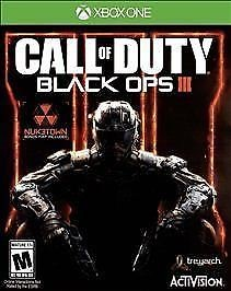 MICROSOFT CALL OF DUTY - BLACK OPS III - XBOX ONE