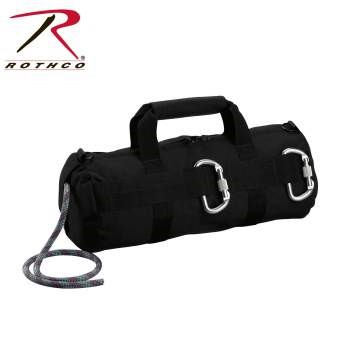 ROTHCO Hunting Gear BLACK STEALTH RAPPELLING BAG