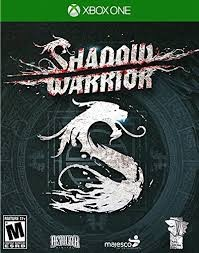 XBOX ONE GAME SHADOW WARRIOR