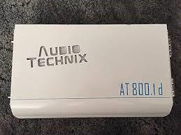 AUDIO TECHNIX Car Amplifier AT800.1D