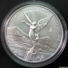 MEXICO Silver Coin ONZA PLATA PURA COIN