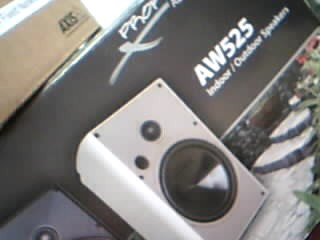 PROFICIENT AUDIO SYSTEMS Speakers AW525