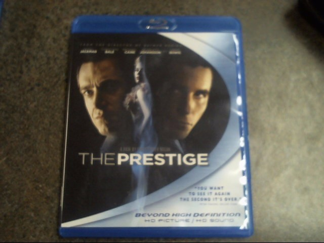 BLU-RAY MOVIE Blu-Ray THE PRESTIGE