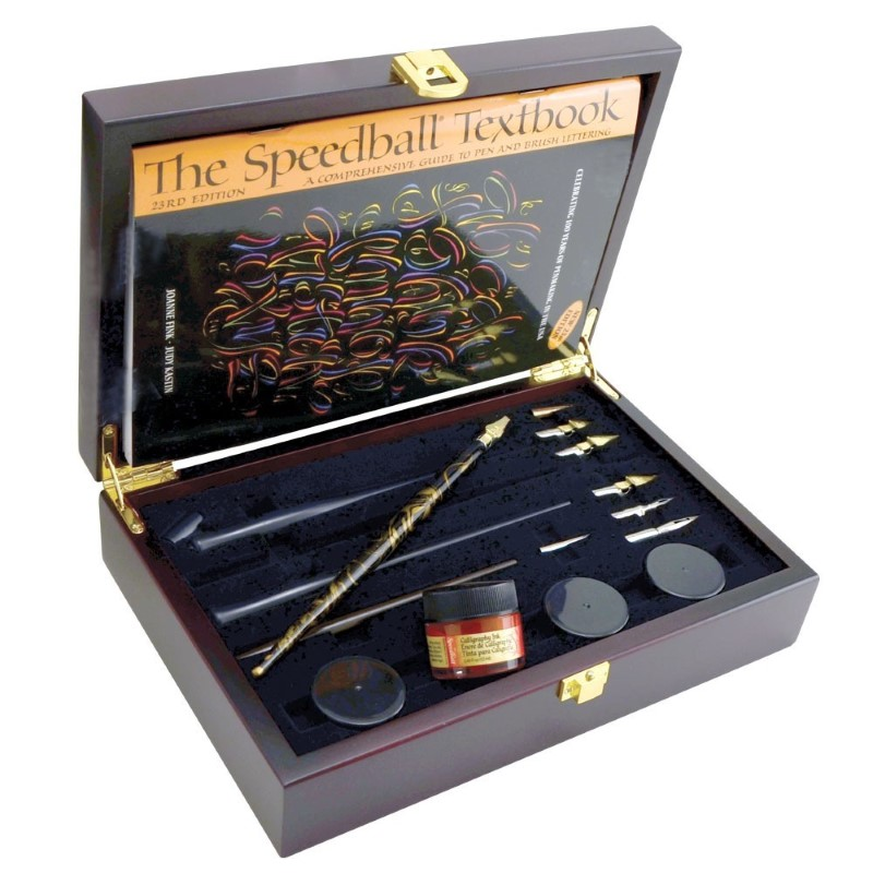 SPEEDBALL ART PRODUCTS Painting CALLIGRAPHY COLLECTOR'S SET