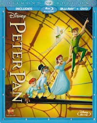 BLU-RAY MOVIE Blu-Ray PETER PAN