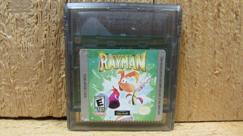 NINTENDO Vintage Game GAMEBOY COLOR RAYMAN