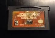 NINTENDO Nintendo GBA Game THE SCORPION KING SWORD OF ODIRIS