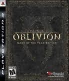 SONY Sony PlayStation 3 Game ELDER SCROLLS IV OBLIVION GAME OF THE YEAR EDITON