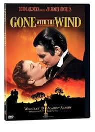 WARNER BROTHERS DVD GONE WITH THE WIND DVD FULL SCREEN