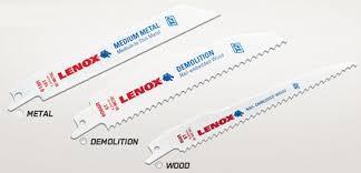 LENOX Reciprocating Saw SAW BLADES