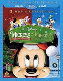 BLU-RAY MOVIE Blu-Ray MICKEY'S 2 MOVIE COLLECTION CHRISTMAS