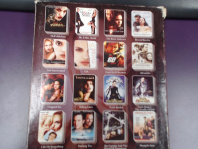 DVD BOX SET BEST OF ANGELINA JOLIE 16 in 1