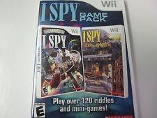 NINTENDO Nintendo Wii Game I SPY GAME PACK