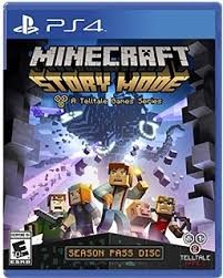 SONY Sony PlayStation 4 Game MINECRAFT STORY MODE PS4