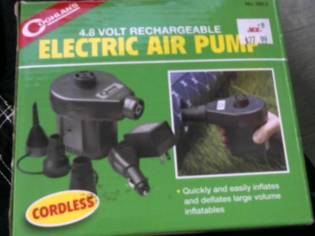 COGHLANS ELETRIC AIR PUMP