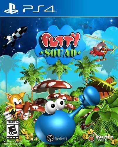 SONY Sony PlayStation 4 Game PUTTY SQUAD