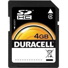 DURACELL DU-SD-4096-R  -4GB-