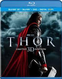 BLU-RAY MOVIE Blu-Ray THOR LIMITED 3D EDITION