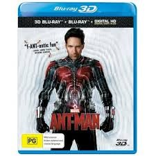 BLU-RAY 3D MOVIE Blu-Ray ANT-MAN
