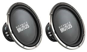 HIFONICS Car Speakers/Speaker System BRUTUS 15' SUBS