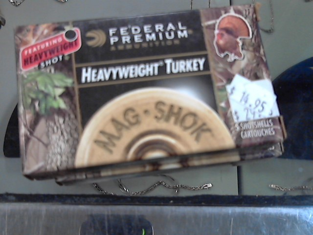 FEDERAL AMMUNITION Ammunition 12 GA HEAVYWEIGHT TURKEY