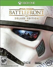 MICROSOFT Microsoft XBOX One Game STAR WARS BATTLEFRONT DELUXE EDITION XBOX ONE