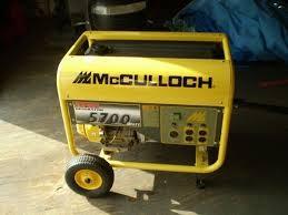 MCCULLOCH Generator 5700 GENERATOR