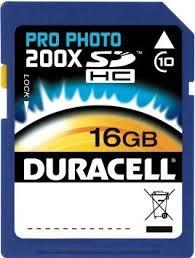DURACELL DU-SD1016G-C  -16GB-