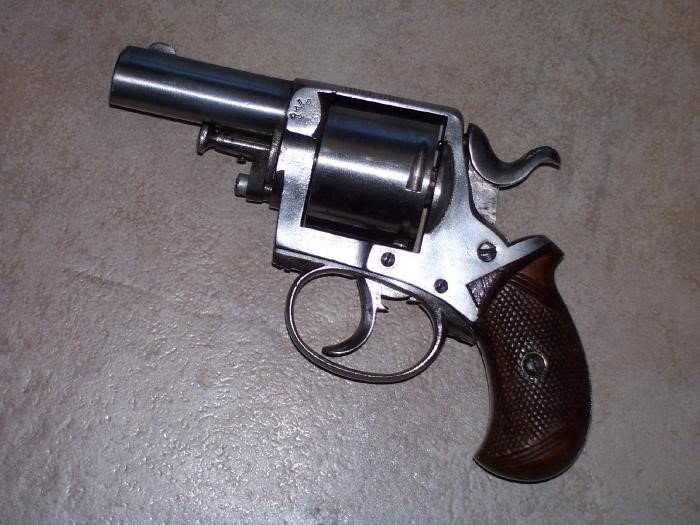 BRITISH ENFIELD Revolver BULL DOG