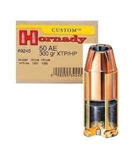 HORNADY Ammunition 9245 50 AE AMMO