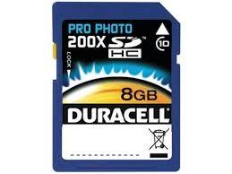 DURACELL DU-SD1008G-C  -8GB-
