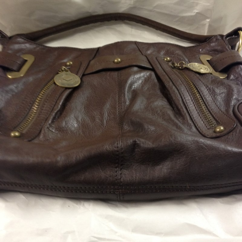 VIA SPIGA Handbag FTY #676 BROWN HANDBAG