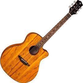 LUNA GUITARS Acoustic Guitar GYPE SPALT