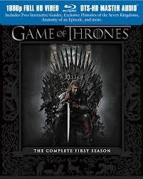 BLU-RAY MOVIE Blu-Ray GAME OF THRONES SEASON 1